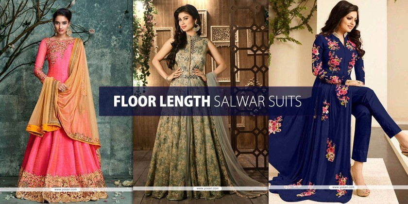 Floor Length Salwar Suits