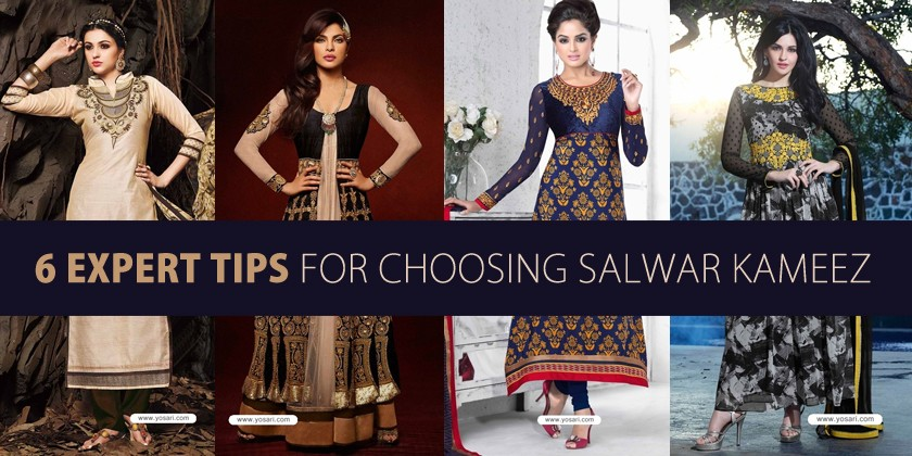 6 Expert Tips For Choosing Salwar Kameez