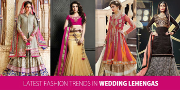 Latest Fashion Trends in Wedding Lehengas