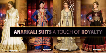 Anarkali Suits - A Touch of Royalty